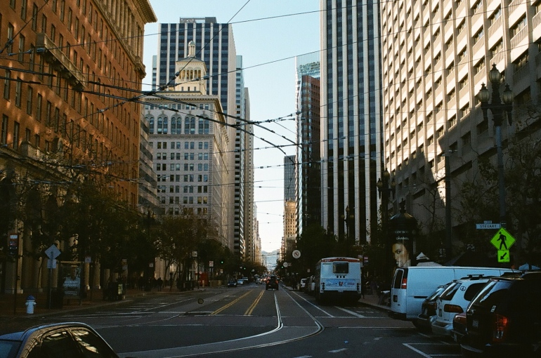 Looking down Market Street, again, I feel like someone shot this picture before, but deal with it.