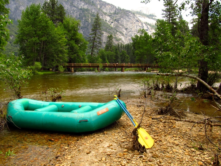 Rafting downriver, I wish I could have gotten more of the sky to show the sheer vastness of the place.
