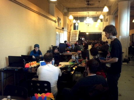 Citizen Space, the venue for my first Global Game Jam