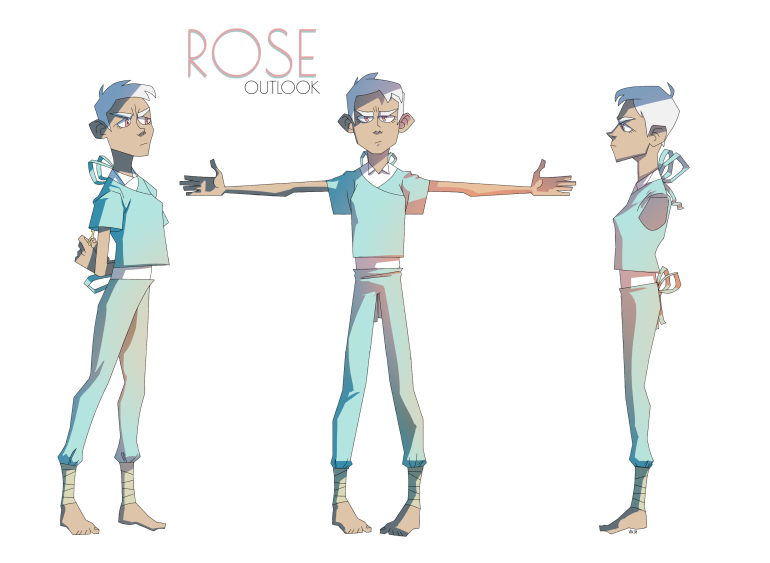 The game's protagonist, Rose
