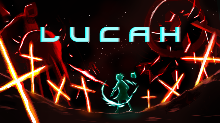 L U C A H Banner with Logo